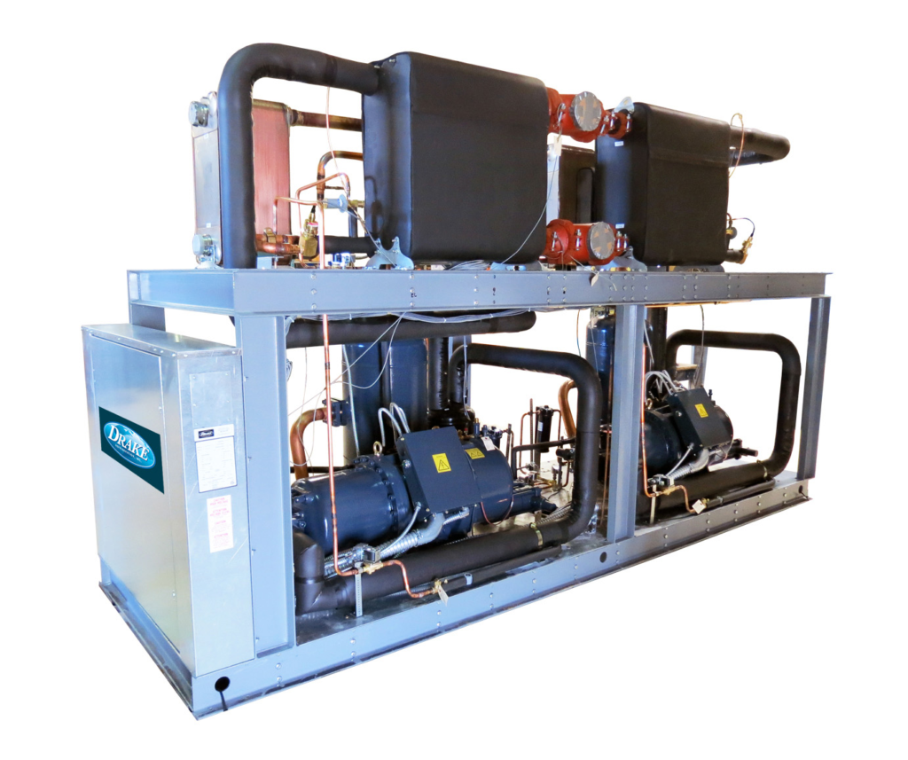 Packaged water cooled chillers