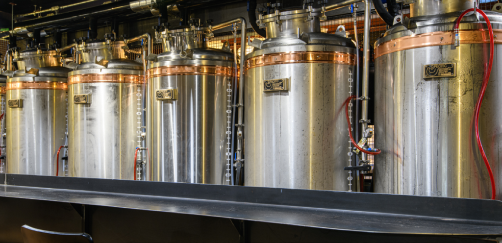 Chestnut Hill Brewing Co. Custom Chiller and brite tanks