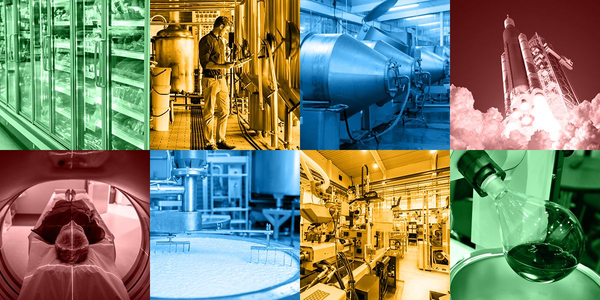 8 Industrial Chiller Applications